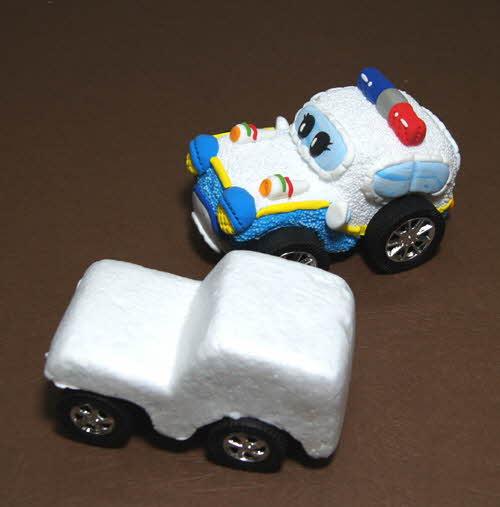 지프자동차폼11cm +바퀴 직경2.8*축7cm
