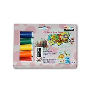패브릭 염색마카 일반 6색세트(직물전용)