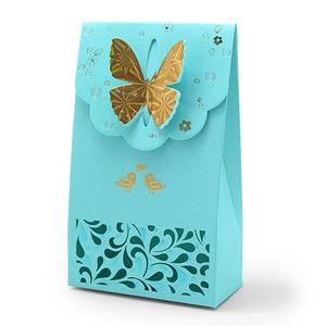 나비 방향제 포장지 5개입(파랑)