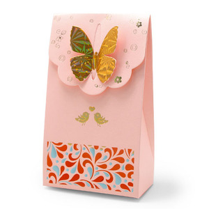 나비 방향제 포장지 5개입(분홍)