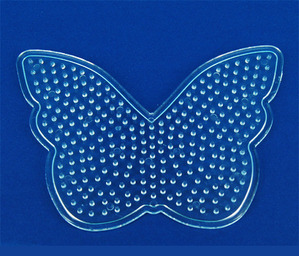 컬러비즈모양판(5mm)-나비 약13*9.3
