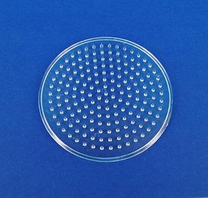 컬러비즈모양판(5mm)-원판 小 약8.7cm
