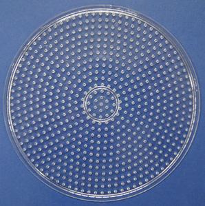 컬러비즈모양판(5mm)-원판 大 약15.4cm