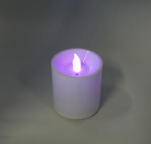 LED전기양초 터치형 (직경6.5*7cm) 색상변함/AAA건전지포함