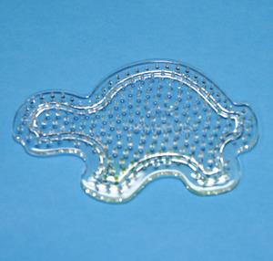 컬러비즈모양판(5mm)용-거북이 약11.5cm
