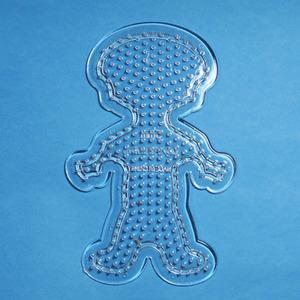 컬러비즈모양판(5mm)용-소년 약15cm